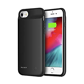 Wixann Battery case for iPhone 8/7/6/6s/SE 2020, 3000mAh Slim Portable Charger Case Protective Rechargeable Battery Pack Charging Case for iPhone 8/7/6/6s