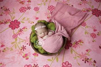 4.5 Ft Petal Pink Ripple Newborn Wrap Photography Props, Faux Cheesecloth Newborn Photo Props, Baby Wrap, Newborn Props, Photography Props, Gauze, Boy Props