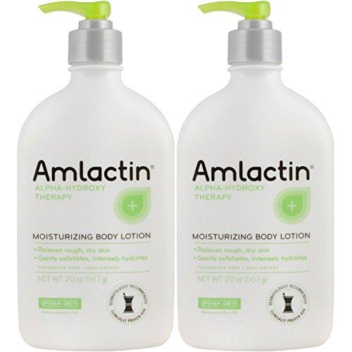 2 pack AmLactin 12 Moisturizing Lotion – 567 g 20 oz