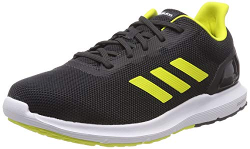 carbon Yellow Gris Homme Cosmic Course De Adidas Pour Core Shock 2 Chaussures Black 0 8nBgv