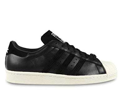 Image 1 of Cheap Adidas Originals Black Suede Superstar Up Metal Toe Cap