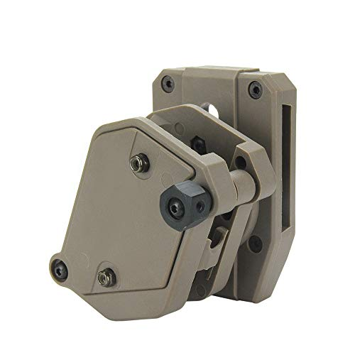 KRYDEX IPSC USPSA IDPA Competition Shooting Multi-Angle Adjustment Speed Shooter's Pistol Magazine Pouch Mag Holster Holder (DE)