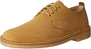 CLARKS Men's Suede Desert London Oxfords, Maple, 8 D(M) US (B01I49INZC) | Amazon price tracker / tracking, Amazon price history charts, Amazon price watches, Amazon price drop alerts