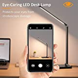 LED Desk Lamp Eye-Caring Table Light with USB