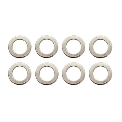 - Pit Posse Motorcycle Oil Drain Plug Bolt Crush Washer Gasket Kit of 10 - M14 X 22.3 - Exceeds OEM Washers - Prevents Leakage - Tight Seal - Compatible with Models of Yamaha, Triumph, Suzuki, Honda