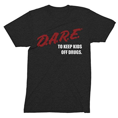 The Original Dare Shirt - D.A.R.E. (Dare) Vintage 90's Logo Tri-Blend Shirt