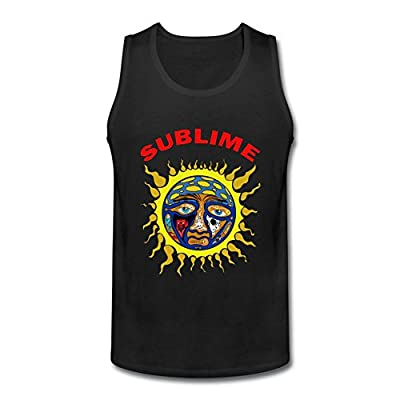 RrelmY Men's Sublime Sun Blacklight Tank Top