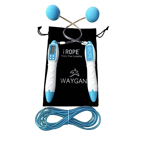 Waygan Digital Jump Rope Kids Workout,Adjustable Skipping Ropes with Calorie and Jump Counter,Best Fitness/ Crossfit Equipment for Adults