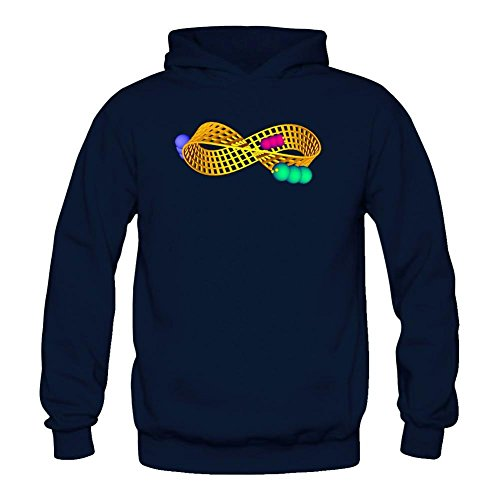 Tommery Women's Moebius Strip Art Long Sleeve Sweatshirts Hoodie