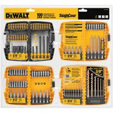 Dewalt 100-piece Impact Screw Driving Bit Set (Bit Impact Dewalt Set)