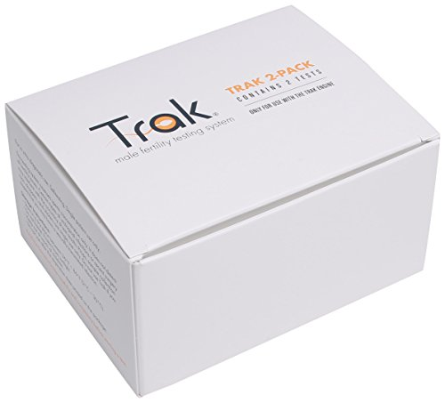Trak at Home Male Fertility Sperm Test Refill Kit with 2 Tests (HSA/FSA ()