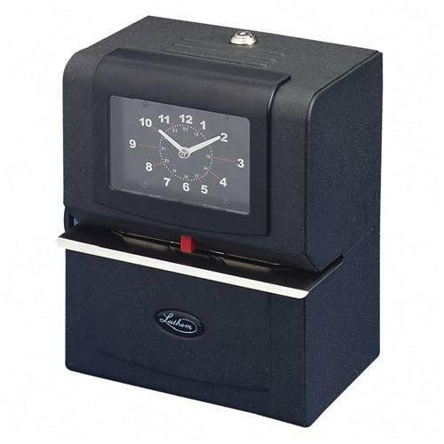 Lathem Time 4004 4000 Series Heavy Duty Automatic Time Recorder, Month(Jan-Dec), Date(1-31), Contine by (Lathem 4000 Series)