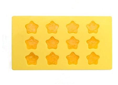 Compra Bandeja para Hielo, con Forma de Estrellas, Silicona de ...