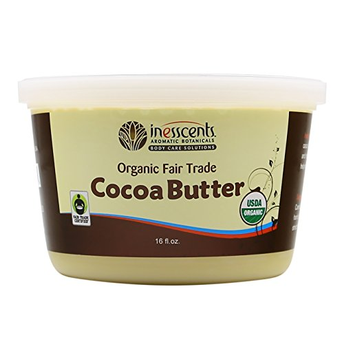 Organic Fair Trade Cocoa Butter 16 Fl Oz Tub (Fair Trade Cocoa Butter)