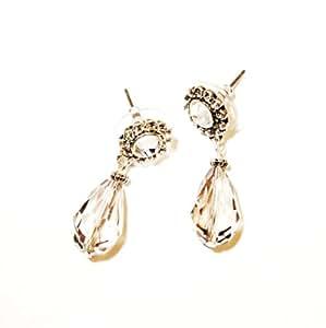 Funda joyas - cristales de Swarovski y estuches de Juego de pendientes de cristal hematita ottomanbrim