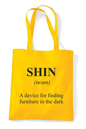 Yellow Not The Shopper In Funny Tote Alternative Definition Dictionary Bag Shin Tqapvv