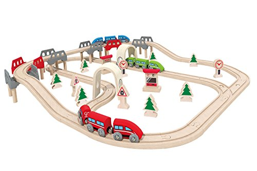Hape-High-Low-Railway-Train-Set