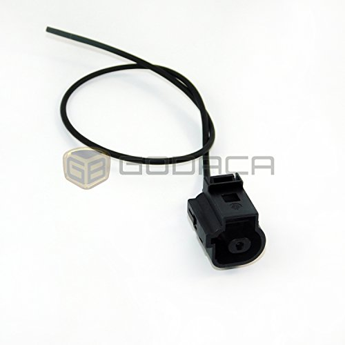 1x Connector 1-way 1 pin for Audi Oil Pressure Sensor 1J0 973 081 (Oil Pressure Volkswagen)