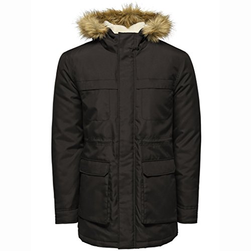 Hombre para Only amp; Negro Jacket Sons Onsjohn Chaqueta Noos r06rYw