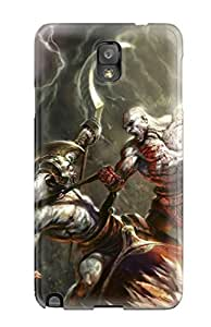 Awesome Case Cover/galaxy Note 3 Defender Case Cover(video Game God Of War)