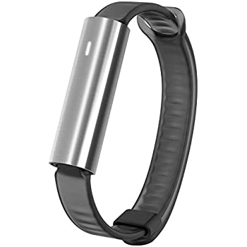 Misfit Ray - Fitness + Sleep Tracker with Black Sport Band (Stainless Steel)