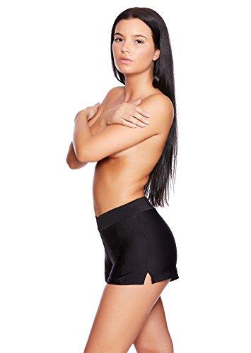 Versandhandel Henry Musch-Malinowski - Shorts - para mujer Hotpants Black HP4(sw)