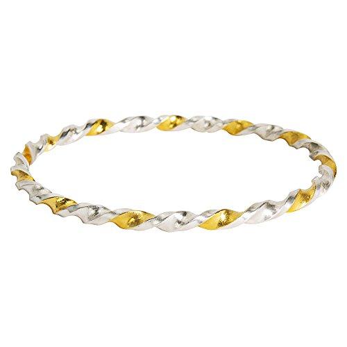 Gurhan Yellow Earrings - Gemma by WP Diamonds Gurhan Midnight Bangle Bracelet in Sterling Silver MSRP 2,400