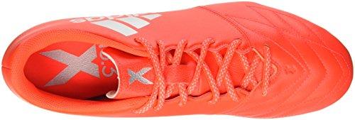 Pelle Adidas X 163 Fg - S79495 Rosso-argento
