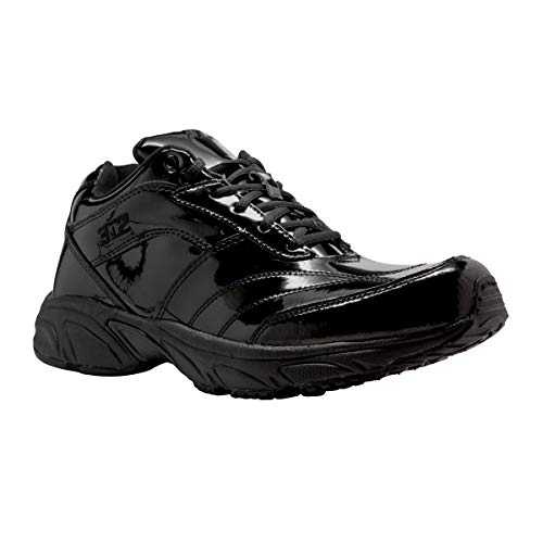 3N2 Reaction Referee Patent Leather Baseball Equipment, Black Patent Leather, Size 14