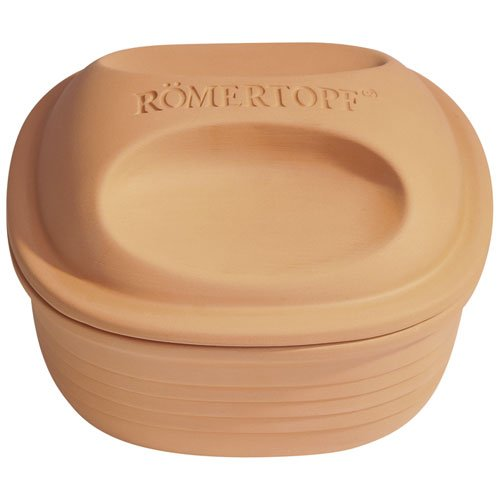 Römertopf 15505 Multi-Fucntional Square Clay Baker 2-4 People MADE IN GERMANY