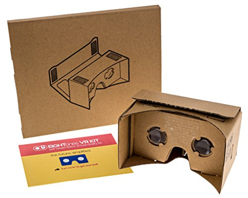 EightOnes VR Kit V1.1 - The Complete Google Cardboard Kit with NFC (WITHOUT Head-strap) (Original Cardboard)
