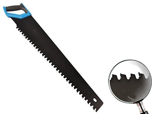 Fuchsschwanz mit Hartmetallbestü ckung 700 mm gummierter Griff fü r Porenbeton, Leichtbeton, Gasbeton MS Warenvertrieb
