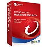 Trend Micro Maximum Security | 2018 | 3 PC's | 1 Year Subscription | PC/Mac | Keycard- No Disc