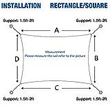 Cool Area Rectangle 13' X 19'8'' Sun Shade Sail