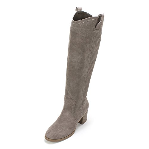White Mountain Women's Bethesda Slouch Boot, Stone, 8 M US