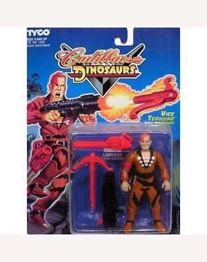 Cadillacs and Dinosaurs Vice Terhune Evil Poacher Action Figure by Cadillacs & Dinosaurs