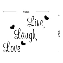 Home Decor,LSVTR Live Laugh Love Quote Removable Wall Decals Vinyl Stickers