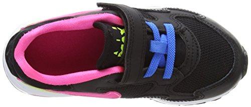 Nike Air Max St (Tdv), Zapatos de Recién Nacido para Bebés Negro / Rosa / Blanco / Azul (Black / Pink Pow-White-Pht Blue)