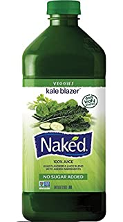Naked juice in a bed are not