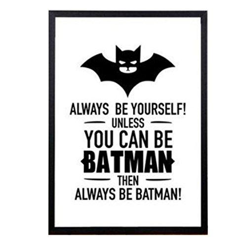 Anyutai Impresión de la Pintura Cartel de la Lona, Batman ...