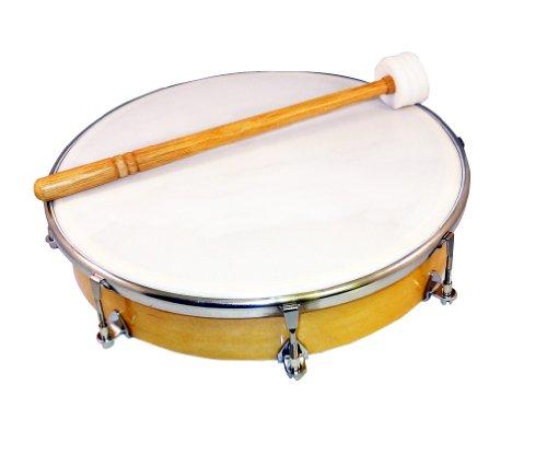 Rhythm Band Tunable Hand Drum - Suzuki Musical Instrument Corporation HD-10 10-Inch Tunable Hand Drum with Mallet