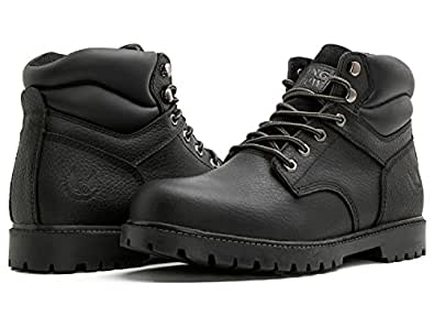 230bbd340c8 KINGSHOW Men's 1366 Water Resistant Premium Work Boots