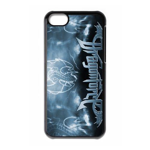 Dragonforce 009 coque iPhone 5C Housse téléphone Noir de couverture de cas coque EOKXLLNCD19072