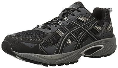 ASICS Men's Gel Venture 5 Running Shoe, Black/Onyx/Charcoal, 7 M US