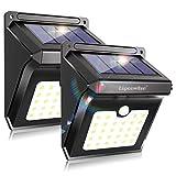 28 LED Solar Motion Lights, Security Motion Sensor Outdoor Light,Wireless Solar Lights Outdoor, Solar Powered Flood Lights Deck Patio Garden Outside Light (2 Pack)