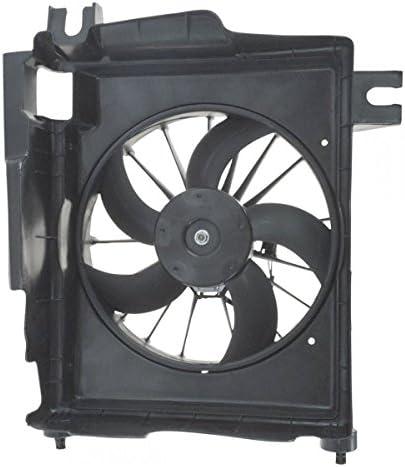 Radiador A/C AC Condensador Ventilador de refrigeración & Motor ...