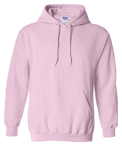 Gildan 18500 - Classic Fit Adult Hooded Sweatshirt Heavy Blend - First Quality - Light Pink - Large