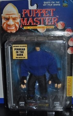 Puppet Master Pinhead in the Dark 1998 Japanese Exclusive Action Figure Puppet Master Six Shooter