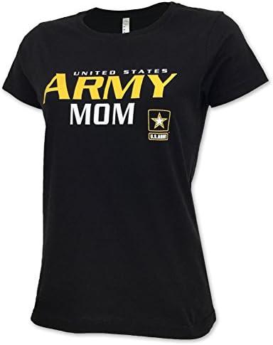 Ladies US Army Mom T Shirt product image