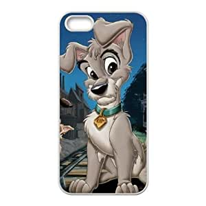 iPhone 5 5s Cell Phone Case White Lady and the Tramp II Scamp's Adventure U1C2F